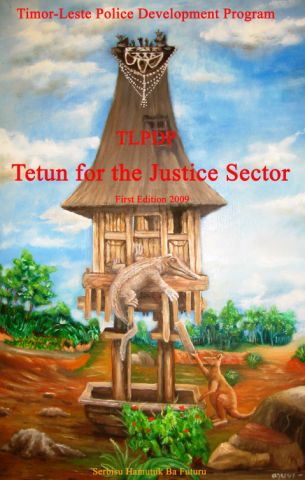 Tetun for the Justice Sector cover
